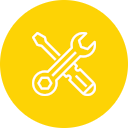 szolgáltatások ikon