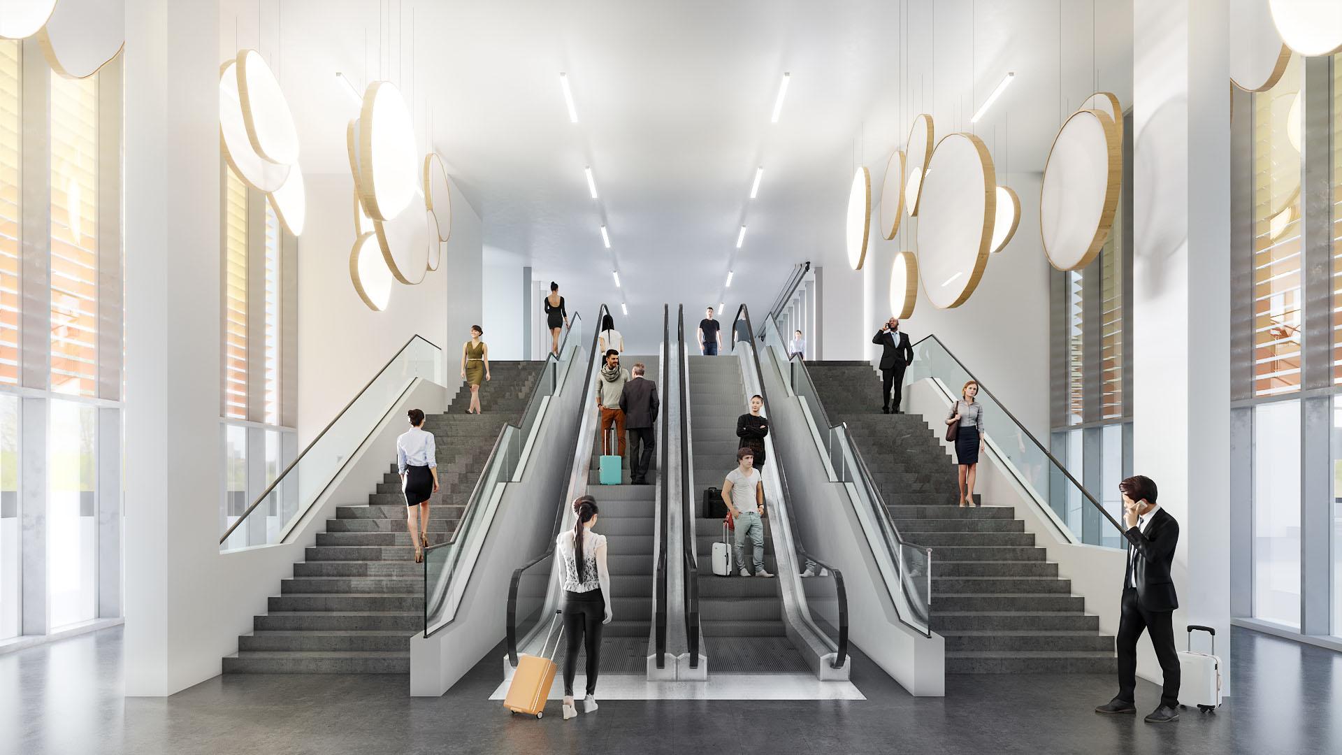 Átadták a Liszt Ferenc Nemzetközi repülőtér fapados utasmólót